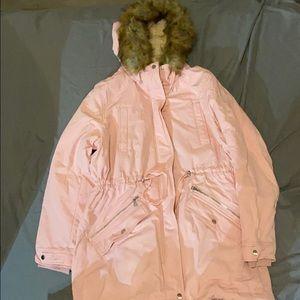 Women's pink fall/winter jacket. Size 16.